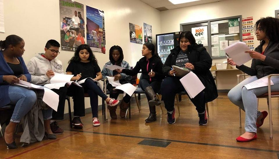Olivet Boys and Girls Club Peer Education – 4.5.18 Ages 15-17