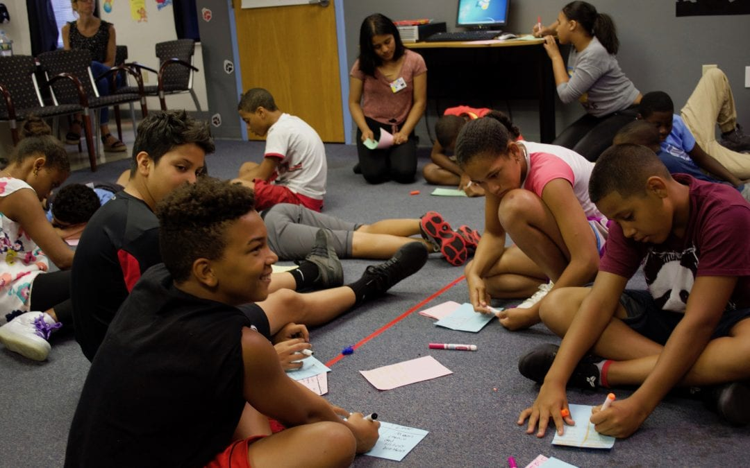 Olivet Boys and Girls Club Peer Education – 7.20.17, Ages 12-14