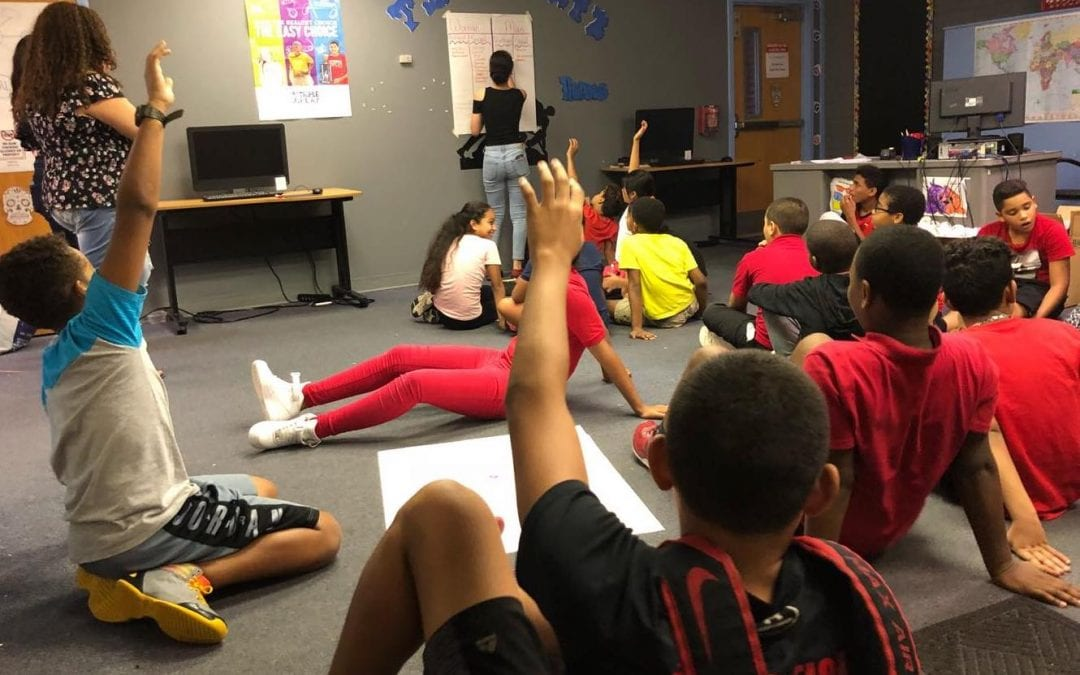 Olivet Boys and Girls Club Peer Education – 9.13.18, Ages 10-12